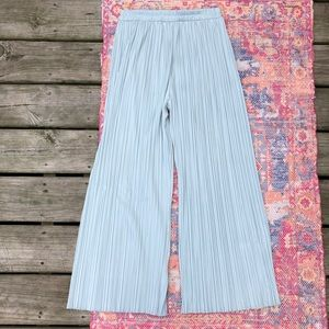 Vintage Aileen wide leg textured pants